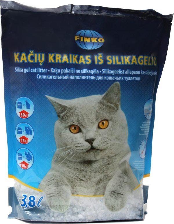 Silikoninis kačių kraikas Finko bekvapis