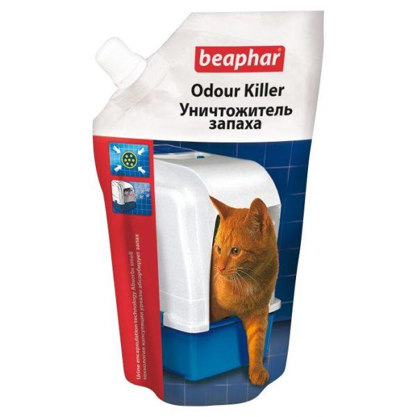 Kačių tualeto kvapui naikinti