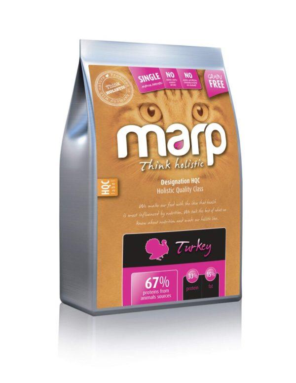 Marp Think Holistic Turkey holistinis sausas maistas katėms su kalakutiena