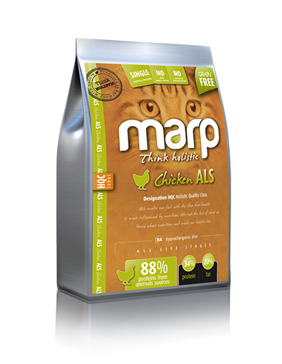 Marp Think holistic Chicken holistinis sausas maistas katėms su vištiena