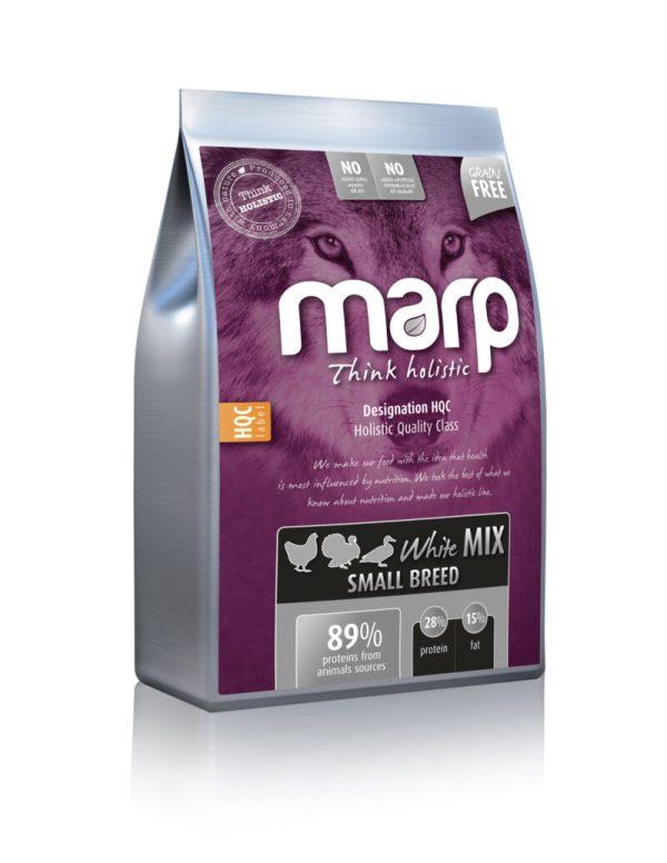 Marp Think holistic White Mix SB holistinis sausas maistas šunims su vištiena, antiena ir kalakutiena