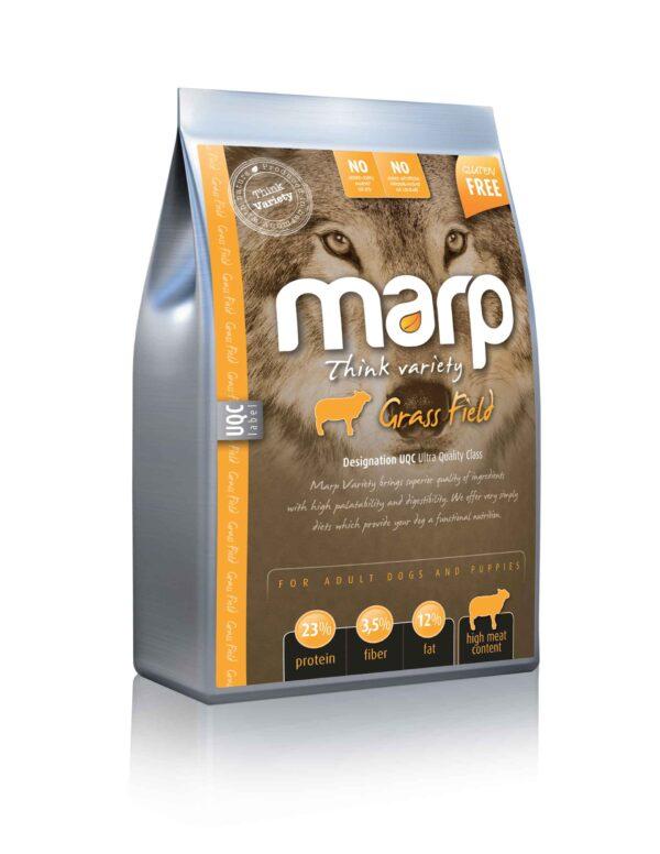 Marp think variety Grass Field sausas maistas šunims su ėriena ir ryžiais