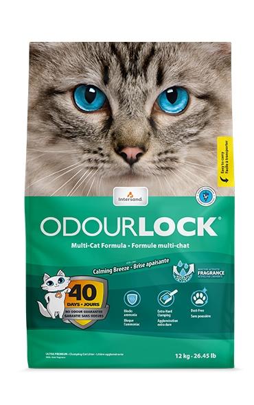 Kraikas katėms Intersand Odourlock su raminančio vėjo kvapu