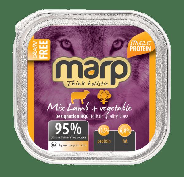 Marp konservai šunims su ėriena ir daržovėmis