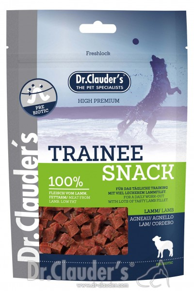 DR CLAUDERS Trainee Snack šunims su ėriena
