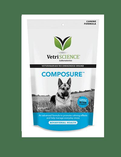 Composure kramtukai – vidutinių ir didelių veislių šunims – nuo streso