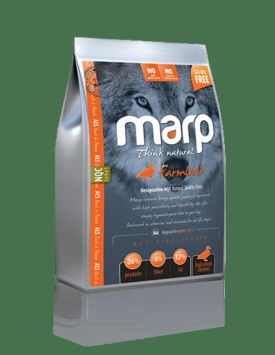 Marp Think Natural Farmland sausas maistas šunims su antiena