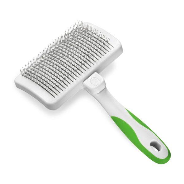 Šepetys Andis gyvūnų kailiui šukuoti su plaukų išvalymo funkcija