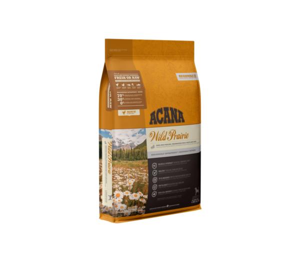 Acana Wild Prairie Dog begrūdis sausas maistas šunims