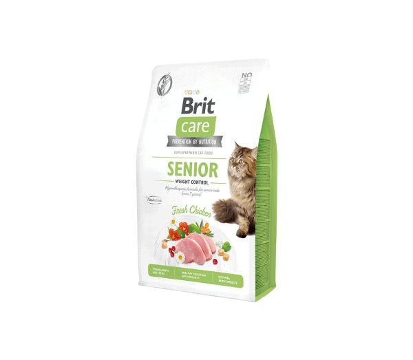 Brit Care Cat GF Senior Weight Control