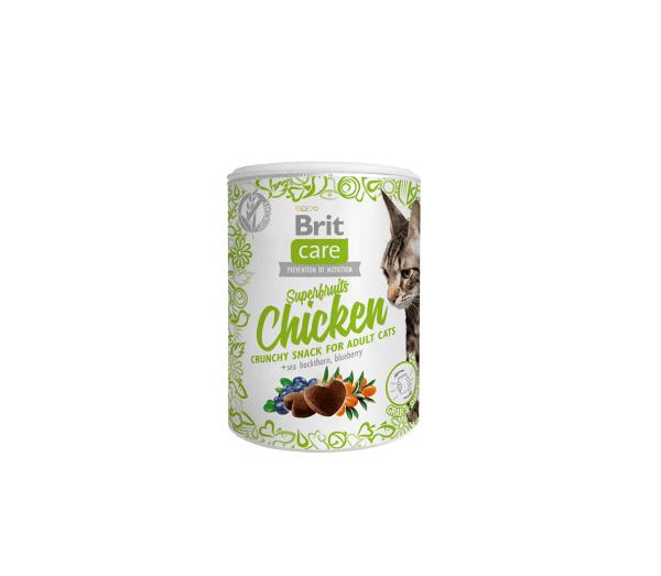 Brit Care skanėstai katėms Superfruits Chicken 100g