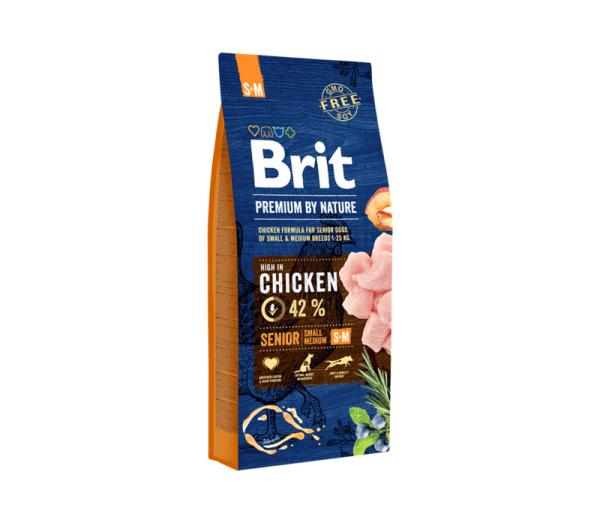Brit Premium by Nature Senior S/M