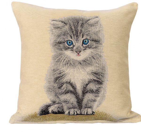 Dekoratyvinė pagalvėlė iš gobeleno 45×45