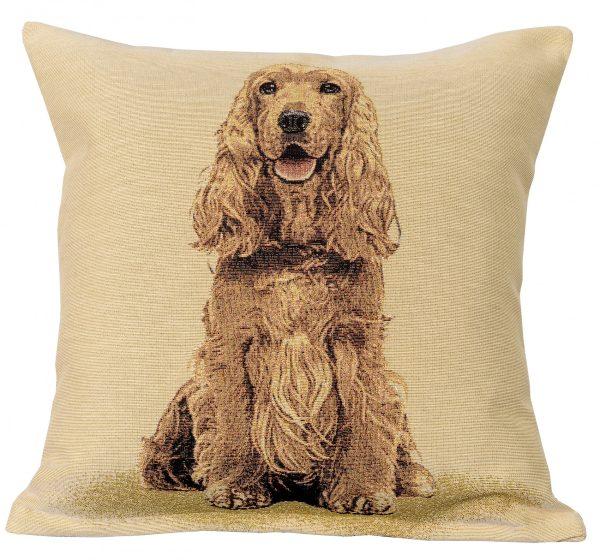 Dekoratyvinė pagalvėlė iš gobeleno 45×45 Anglų kokerspanielis