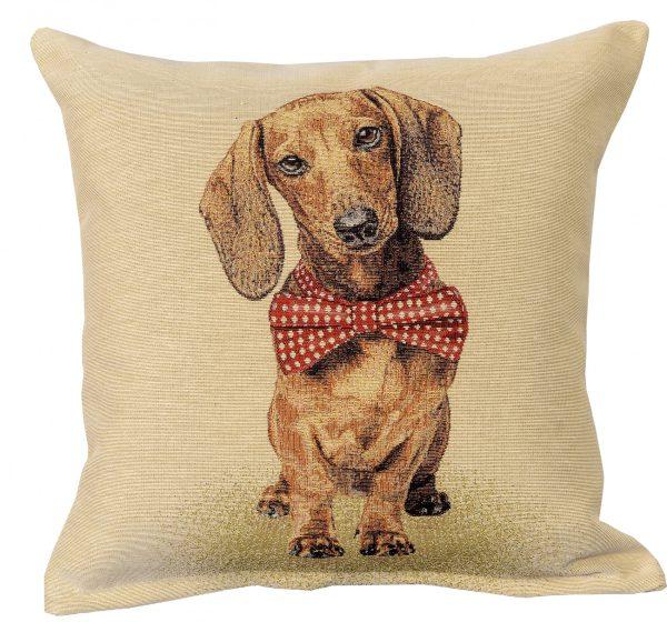 Dekoratyvinė pagalvėlė iš gobeleno 45×45 cm Taksas