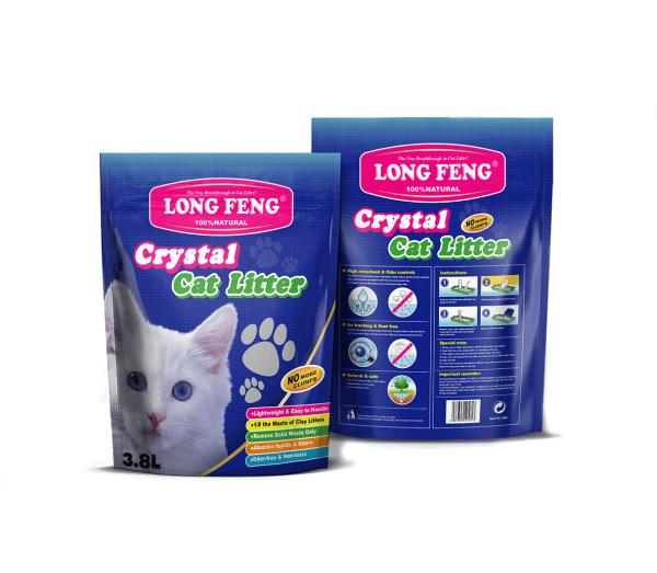 Silikoninis kačių kraikas Long Feng bekvapis