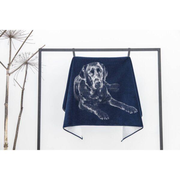 Medvilninis rankšluostis 67×150 cm Labradoro retriveris