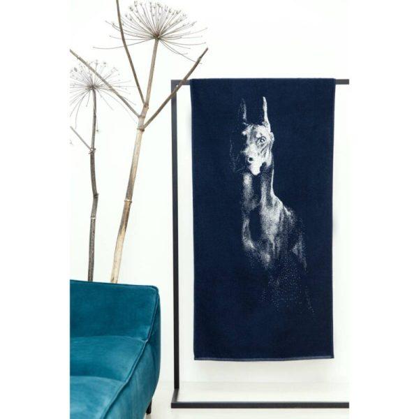Rankšluostis iš medvilnės 67×150 cm Dobermanas