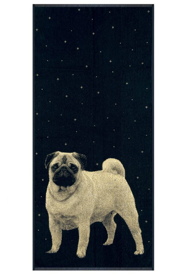 Rankšluostis iš medvilnės 67×150 cm Mopsas