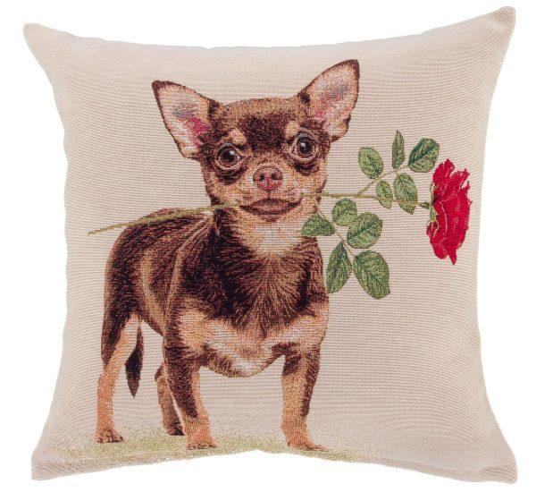 Dekoratyvinės pagalvėlės užvalkalas iš gobeleno 45×45