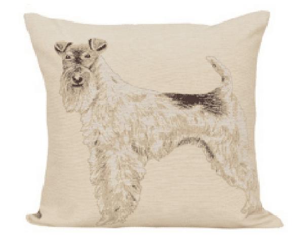 Dekoratyvinės pagalvėlės užvalkalas iš gobeleno 45×45 cm