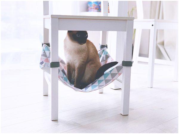 Pakabinamas guolis/hamakas katinukams