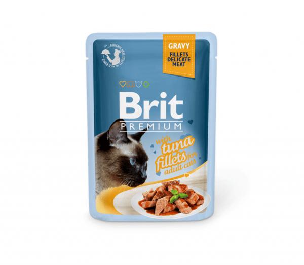 Brit Premium konservai katėms Tuna in Gravy