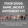 Kurgo paltas-liemenė šunims mėlyna/žalsva