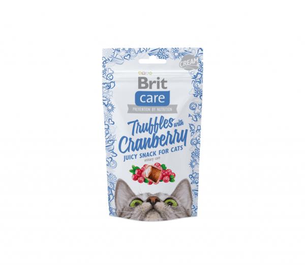 Brit Care skanėstai katėms Truffles Cranberry