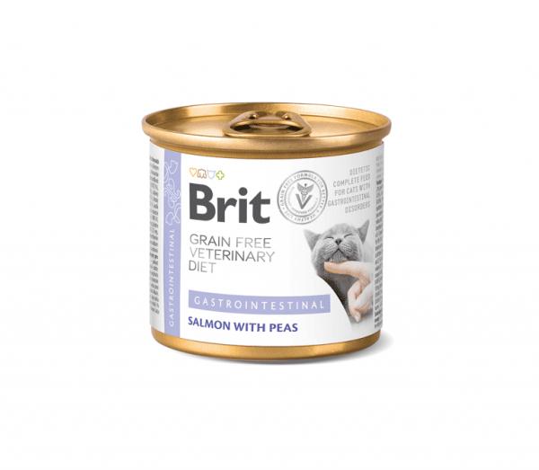 Brit konservai katėms Gastrointestinal 200g