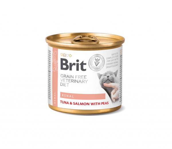 Brit konservai katėms Renal 200g