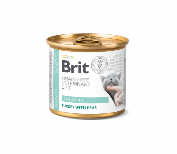 Brit konservai katėms Struvite 200g