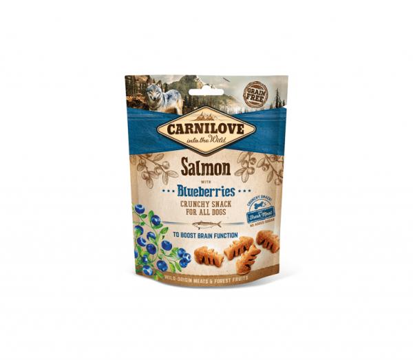 Carnilove skanėstas šunims Salmon and Blueberries 200g