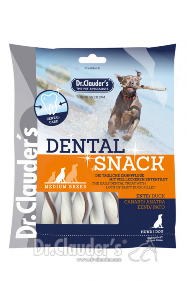 DR CLAUDERS DENTAL skanėstas šunų dantims su antiena