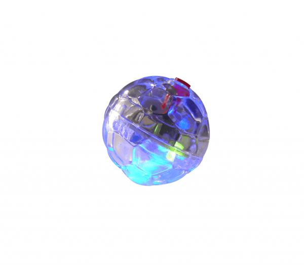 Žaislas katei LED kamuolys 3,6cm