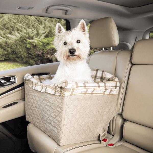 Automobilinė kėdutė šunims Happy Ride