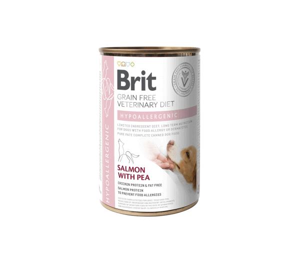 Brit GF Hypoallergenic konservai šunims 400g