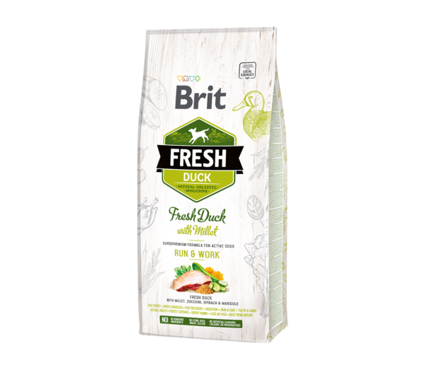 Brit Fresh Duck with Millet Active Run&Work