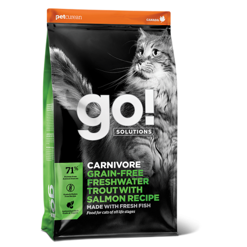 Go! Carnivore Adult+Kitten (upėtakis,lašiša), 7.3kg