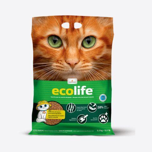 Intersand Ultra Premium Ecolife žemę tausojantis kraikas katėms