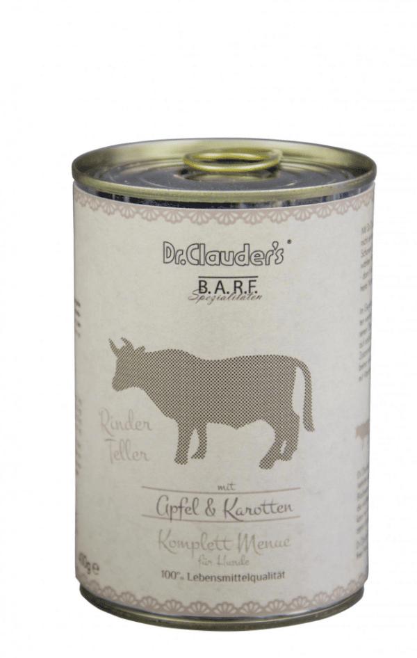 DR CLAUDERS BARF mėsos ir daržovių konservai šunims ir katėms su jautiena